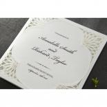 Framed Elegance engagement party invitation