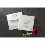 Framed Elegance engagement party invitation design