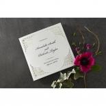 Framed Elegance engagement card design