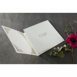 Framed Elegance engagement party invite design