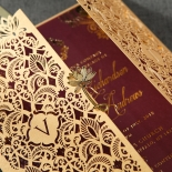 Imperial Glamour engagement party card