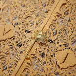 Imperial Glamour engagement party Invitation Card Beautifully Design
