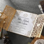 Imperial Glamour engagement party Invitation Beautifully Design
