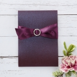 Jewelled Elegance engagement party invitation