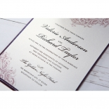 Jewelled Elegance engagement party invite
