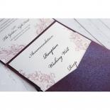 Jewelled Elegance engagement party invite design