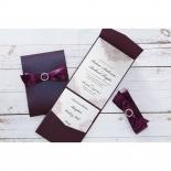 Jewelled Elegance engagement party invitation card design