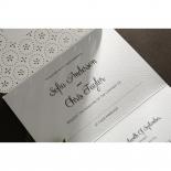 Laser Cut Button engagement party card design