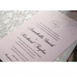 Silvery Charisma engagement invitation