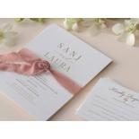 Premium Triplex and Foiled Elegance  - Wedding Invitations - WP-TP02-MG-02-P - 178778