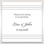 Marital Harmony wedding stationery gift tag item