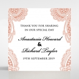Regal Charm Letterpress wedding stationery gift tag item