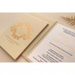 Gold Pearl Timeless Elegance Hardcover  - Wedding Invitations - HC-PG02 - 178493