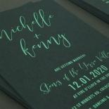 Green Harmony - Wedding Invitations - WP305GG - 178151