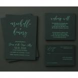 Green Harmony - Wedding Invitations - WP305GG - 178152
