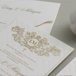 Royal Quilted Half Pocket - Wedding Invitations - WP309GG - 178268