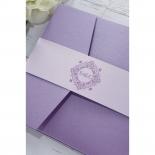 Romantic Rose Pocket hens night invite card