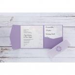 Romantic Rose Pocket hens night card design