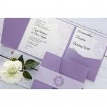 Romantic Rose Pocket hens night party invitation card design