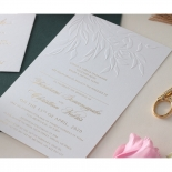 Romantic Garden  - Wedding Invitations - WP-IC55-BLBF - 178604