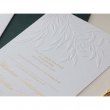 Romantic Garden  - Wedding Invitations - WP-IC55-BLBF - 178605