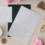 Romantic Garden  - Wedding Invitations - WP-IC55-BLBF - 178609