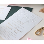 Romantic Garden  - Wedding Invitations - WP-IC55-BLBF - 178608