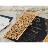 Imperial Glamour - Navy - Wedding Invitations - PWI116022-NV - 178784