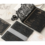 Lux Royal Lace with Foil - Wedding Invitations - PWI116142-F-GK - 178758