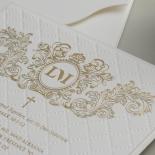 Royal Quilted Half Pocket - Wedding Invitations - WP309GG - 178266