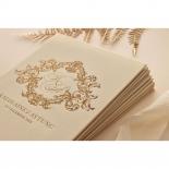 Gold Pearl Timeless Elegance Hardcover  - Wedding Invitations - HC-PG02 - 178492