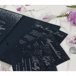 Navy Magnificence - Wedding Invitations - BP-SOLPW-TR30-NS - 178637