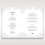 Charming Rustic Laser Cut Wrap wedding table menu card