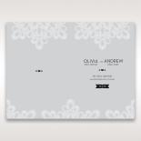 Charming Rustic Laser Cut Wrap wedding table menu card design