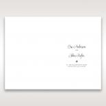 Floral Cluster wedding venue table menu card design