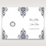 Imperial Glamour without Foil reception table menu card design