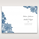 Noble Elegance menu card design