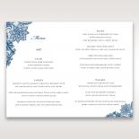 Noble Elegance menu card stationery