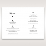 Rustic Woodlands table menu card