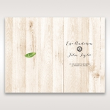 Rustic Woodlands table menu card design