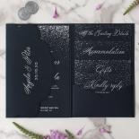 Navy Magnificence - Wedding Invitations - BP-SOLPW-TR30-NS - 178638