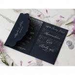 Navy Magnificence - Wedding Invitations - BP-SOLPW-TR30-NS - 178634