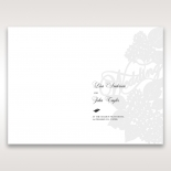 Laser Cut Floral Wedding wedding stationery order of service invite card design