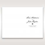 Letters of love wedding stationery order of service invite