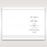 Marital Harmony order of service invite card design
