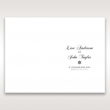 Petal Perfection wedding stationery order of service ceremony invite card design