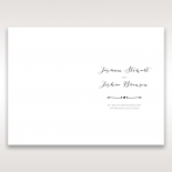 Simply Rustic order of service card design