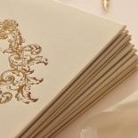 Gold Pearl Timeless Elegance Hardcover  - Wedding Invitations - HC-PG02 - 178491