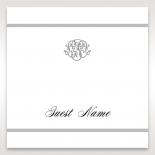 Elegant Seal wedding place card