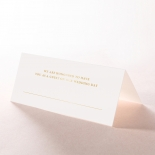 Lux Royal Lace with Foil reception place card stationery design